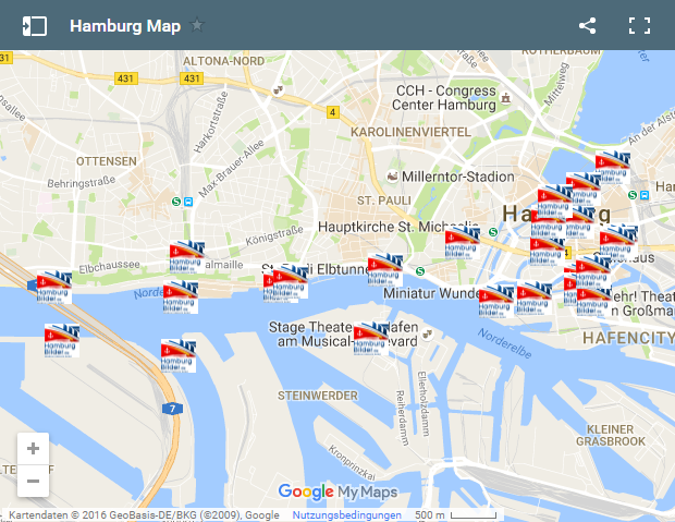 Photo of Hamburg Map mit Insider Tipps